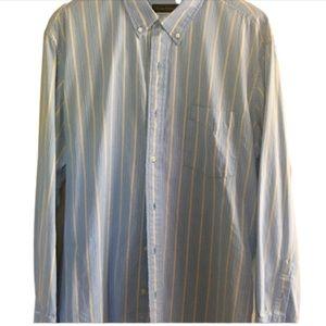 Club Room blue, XL men's dress shirt